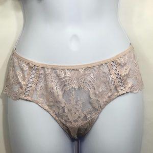 VICTORIA'S SECRET Dream Angels Pink Lace Thong